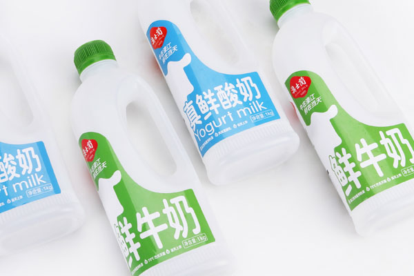 巴氏牛奶包裝設計?澳士蘭(lan)家庭裝上市