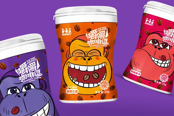 咖(ka)啡(fei)豆壓片糖(tang)果包裝設計x北斗(dou)設計