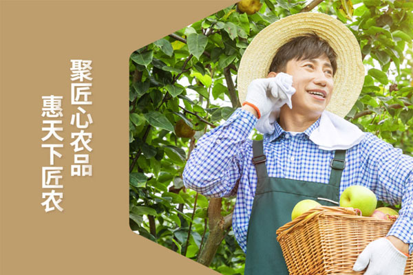北斗(dou)設計x匠農社(she)品牌形象設計落地